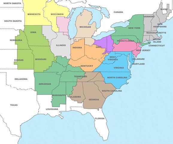 Mapa del comprador HGR
