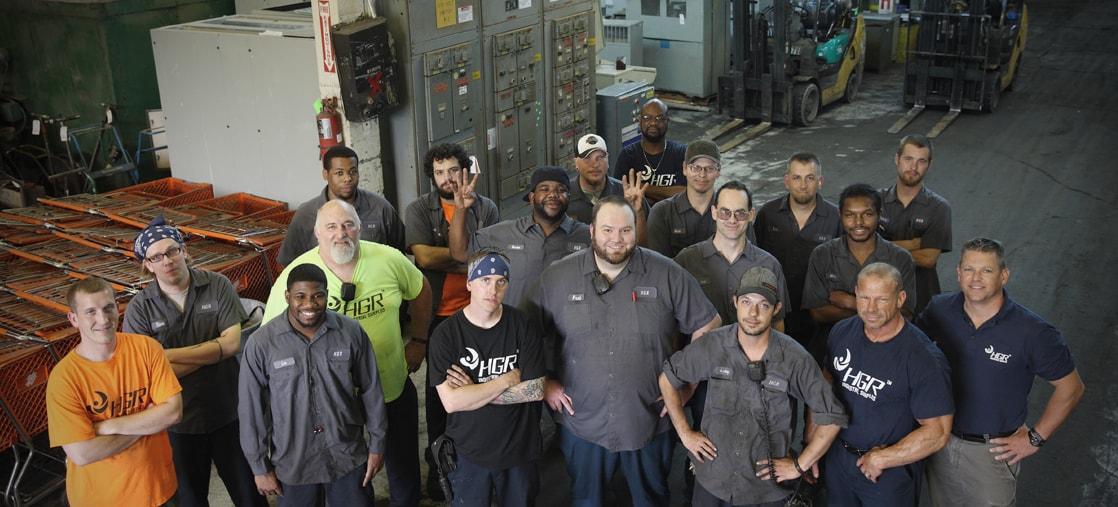 HGR employees