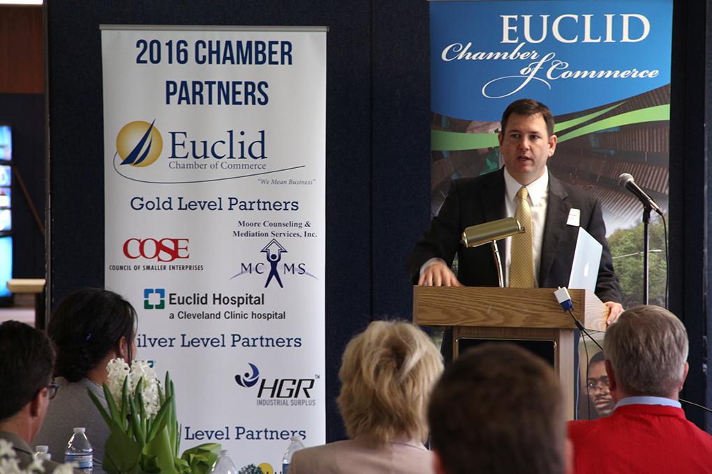Euclid City Schools Assistant Superintendent Charlie Smialek