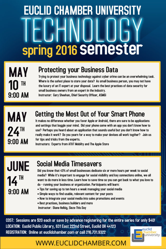 Euclid Chamber University Technology Semester Class offering