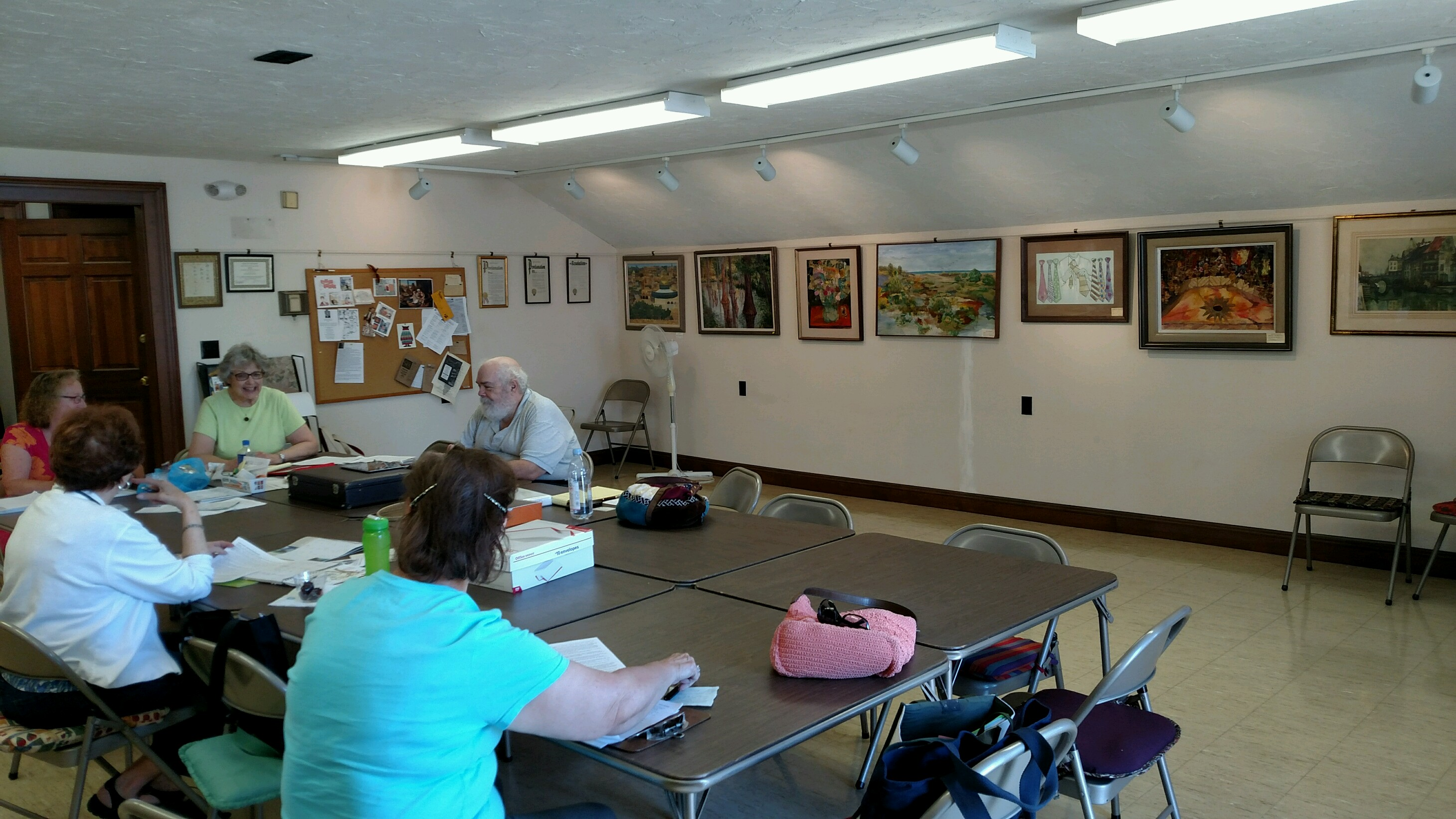Euclid Art Association board meeting