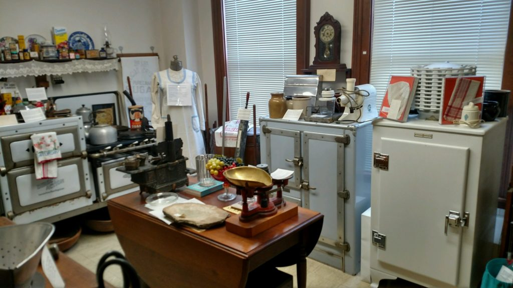 Euclid Historical Society Museum Victorian kitchen