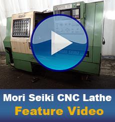 Used Mori Seiki CNC Lathe