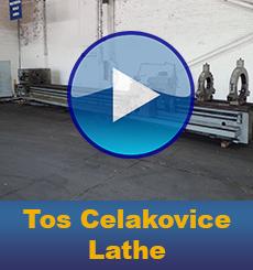 Used Tos Celakovice Lathe