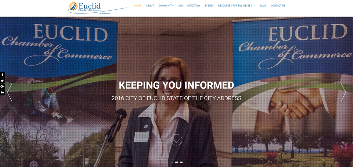 Euclid Chamber of Commerce website