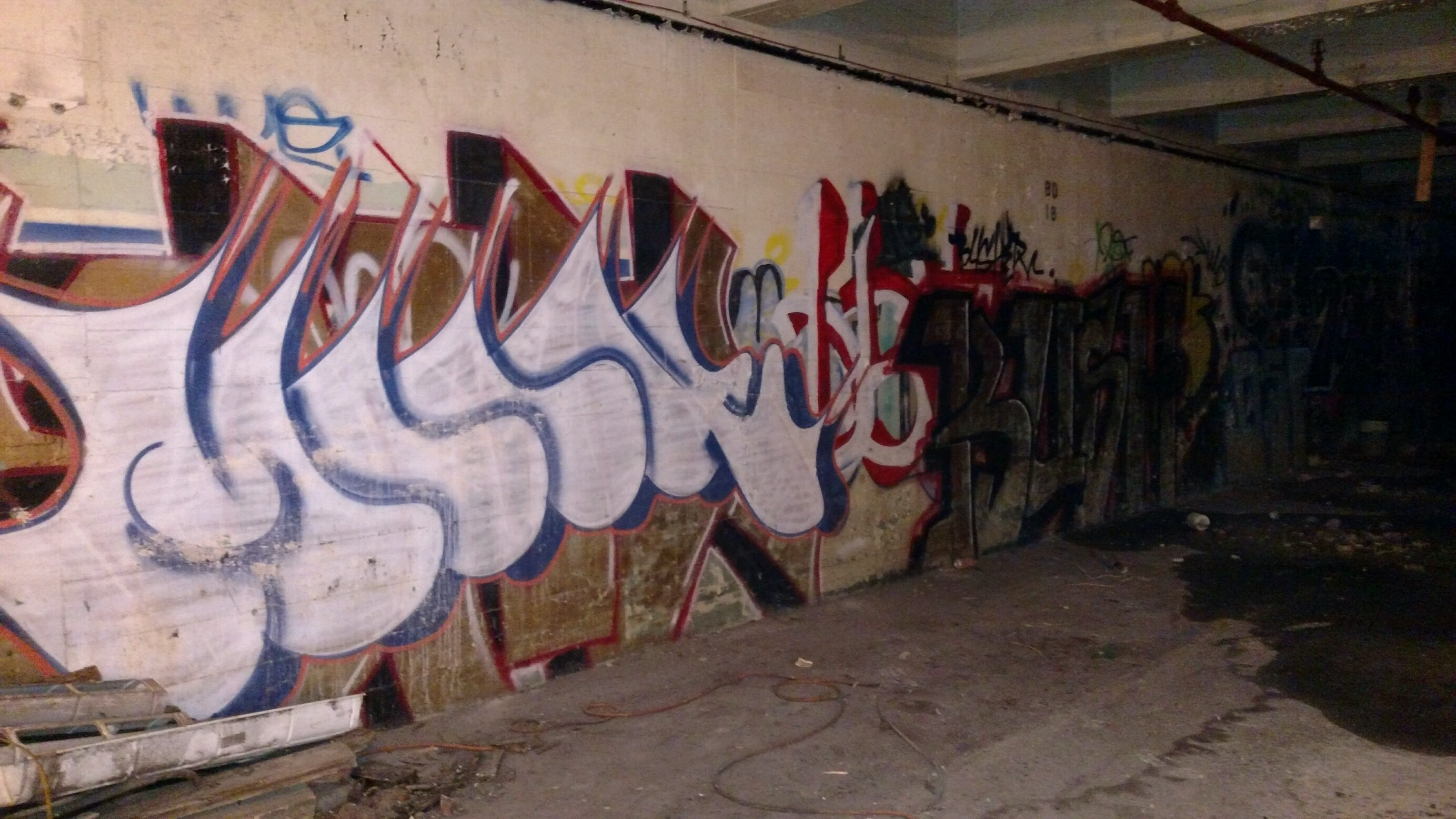 Graffiti at HGR Industrial Surplus