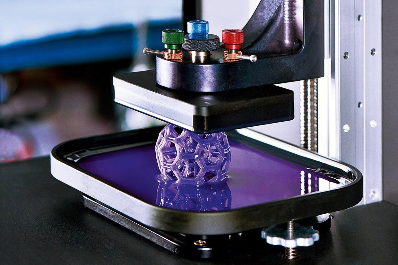 Ultraviolet 3D printer