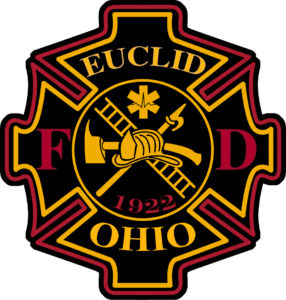 Euclid Fire Department shield patch