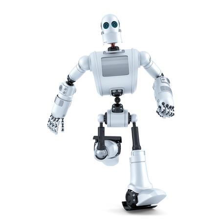 Вклучување на робот