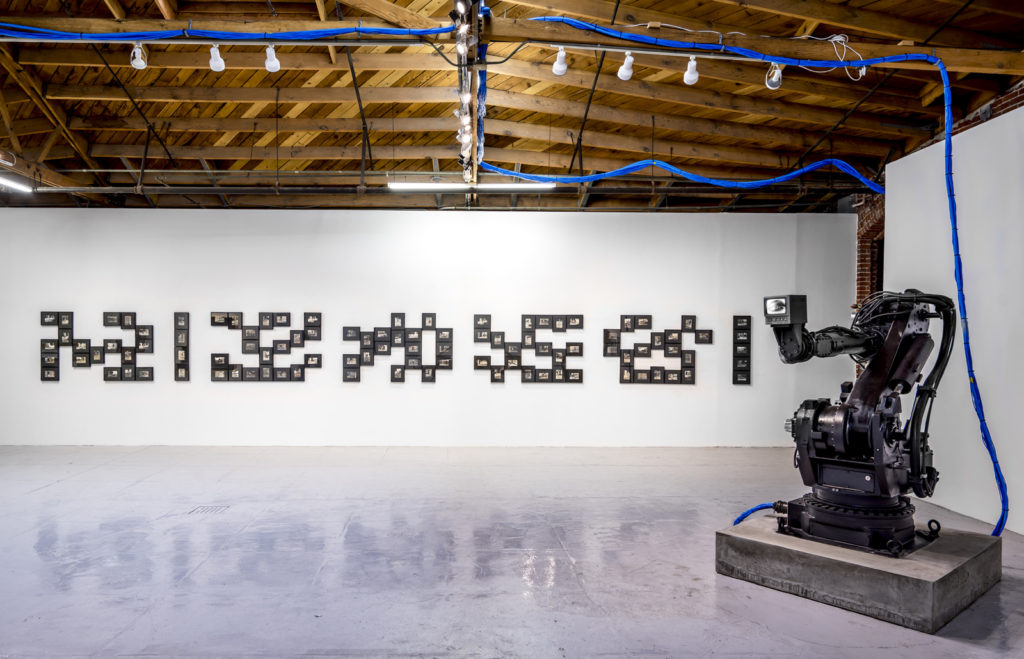 Luddite by James Georgopoulos in MAMA Gallery, Los Angeles