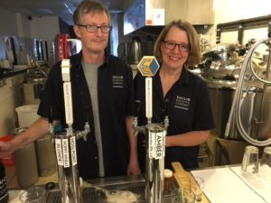 Doug and Kim Fry of Euclid Brewing Company