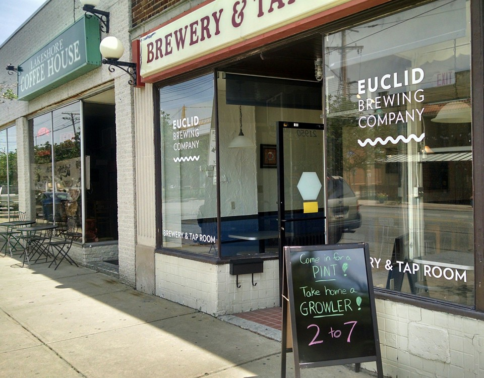 Euclid Brewing Company storefront