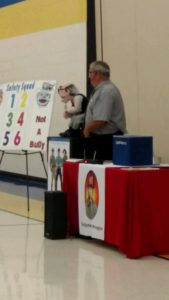 Uncle Vinny of Firefighter Phil at Arbor Elementary