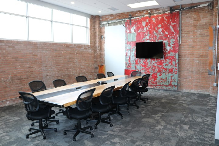 Conference table made by Cleveland Art for HGR