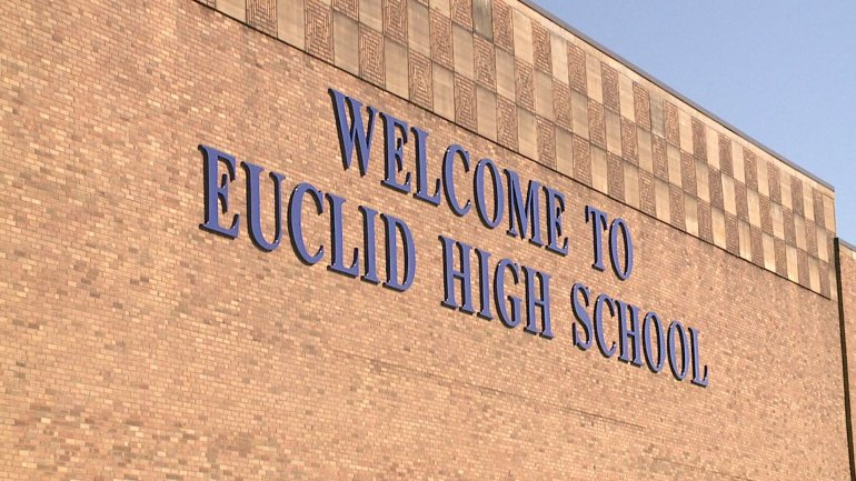 Euclid High School facade