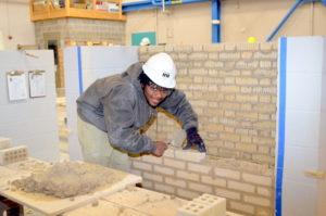 Cleveland Job Corps baksteen student1