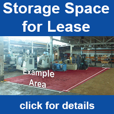 Storage Area for Lease at HGR
