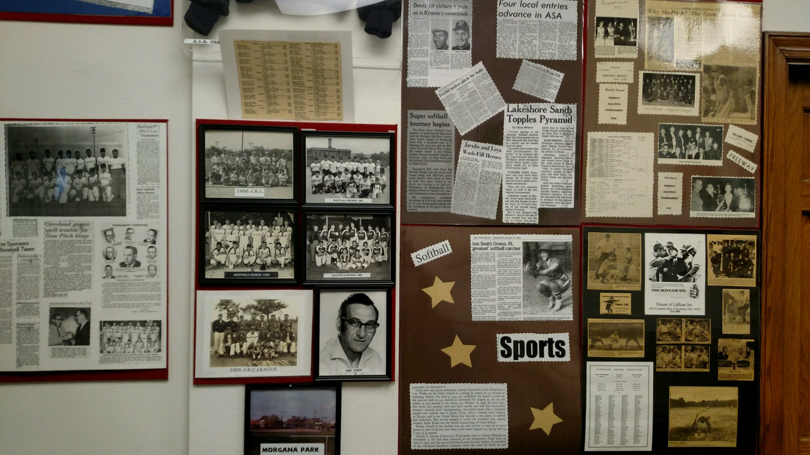 History of start of softball at Slo-Pitch Softball Hall of Fame and Museum