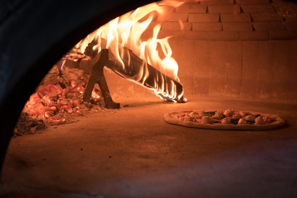 pizza oven at Citizen Pie