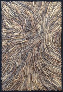 driftwood wall design