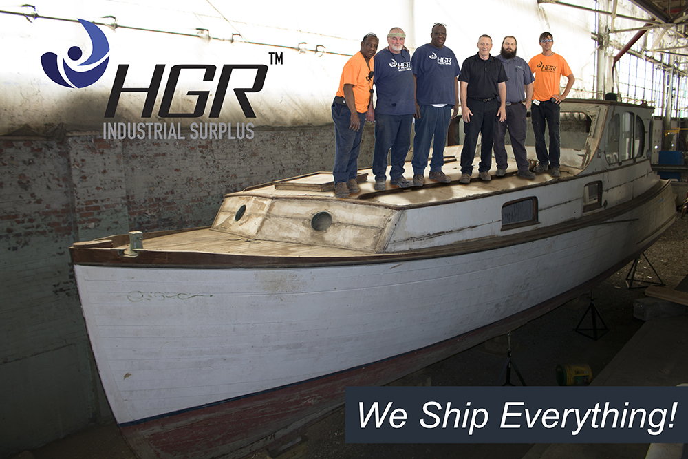 HGR's Shripping Department on a ship
