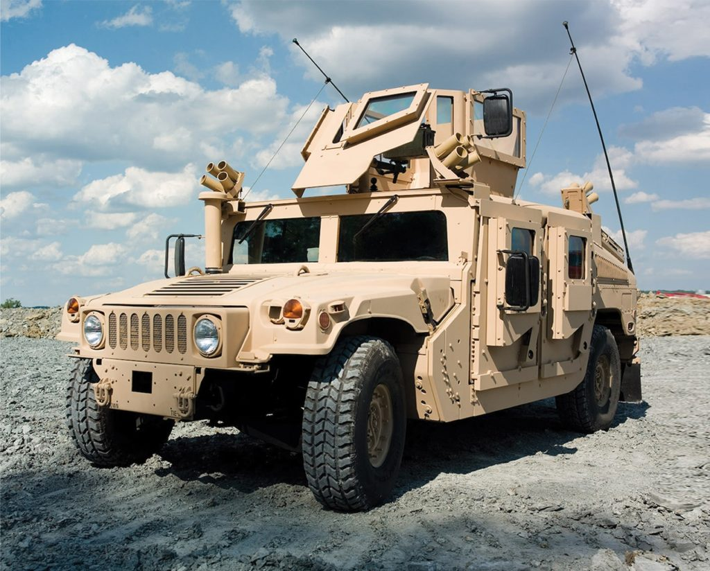 Terves' S-Comp product used for creation of armor plating for the U.S. Army's humvees