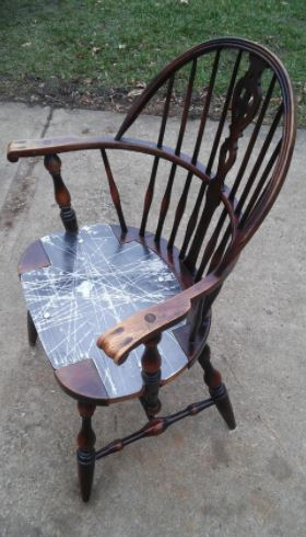Ensminger Iron Image Design chair