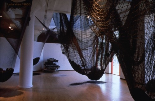 Chaotic Symphony: The Catch-All Net by Laila Voss, courtesy of the artist