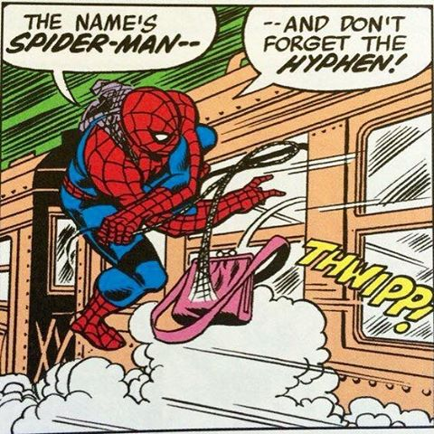 Spider-Man hyphen meme
