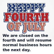 HGR Industrial Surplus July 4 holiday hours