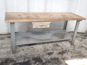 44 Steel maple workbench