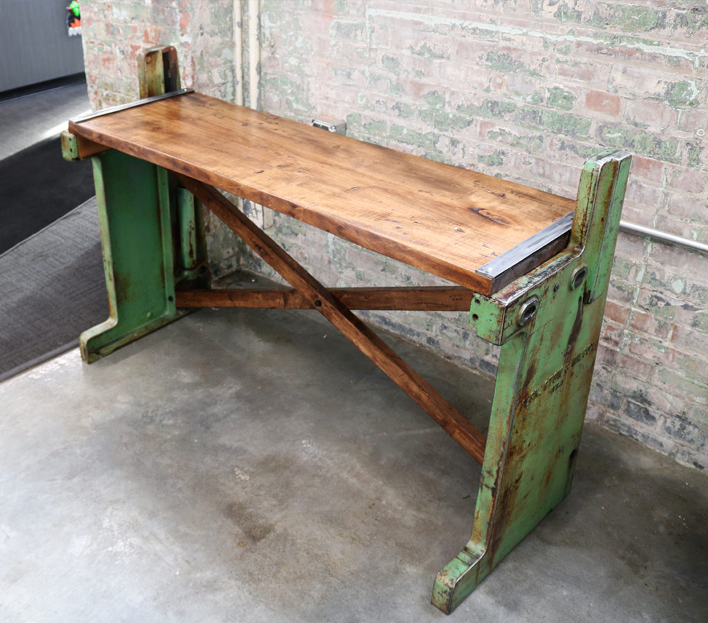 3 Barn Doors table for HGR Industrial Surplus hurricane-relief auction