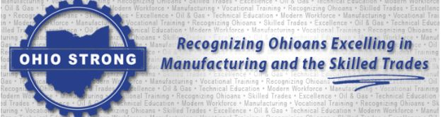 Ohio Strong Award for manufacturing and the skilled trades