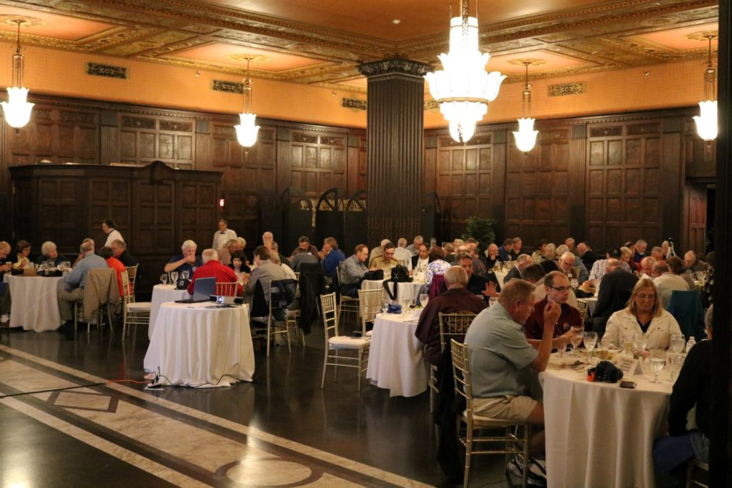 Nickel Plate Road Historical Society luncheon at English Oak Room Tower City