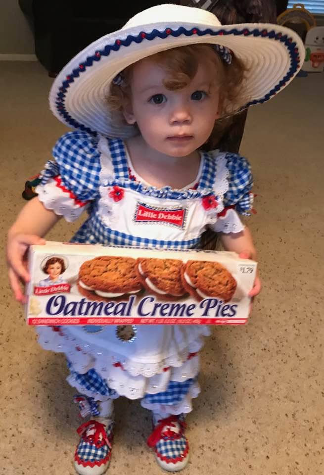 Little Debbie costume