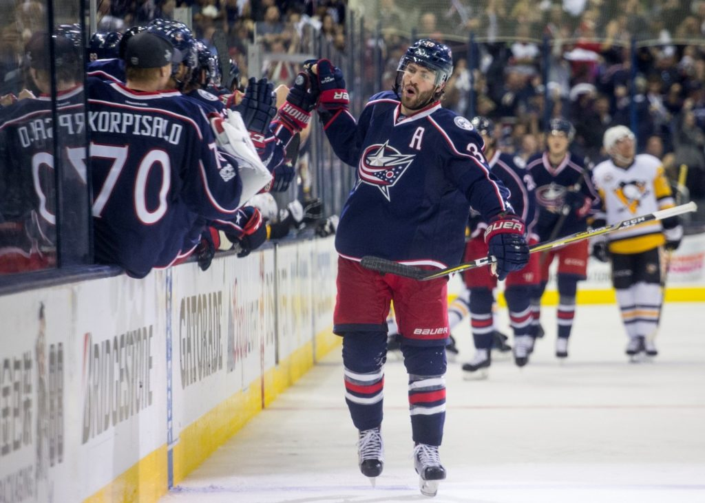Milli Xokkey Liqası Columbus Blue Jackets və Pittsburgh Penguins