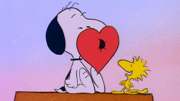 Charlie Brown Woodstock valentine