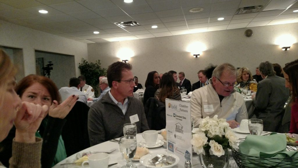 Euclid Chamber of Commerce Amazon luncheon