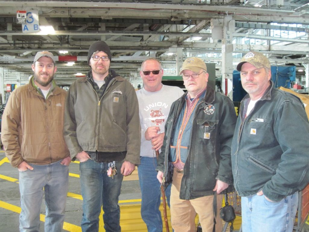 OWWM woodworkers visit HGR Industrial Surplus