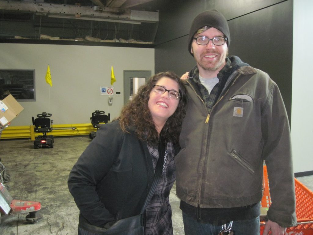 OWWM Amy and James visit HGR Industrial Surplus