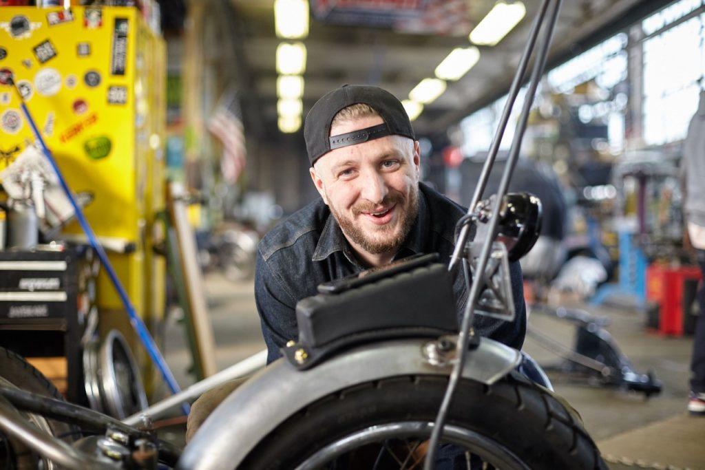 Brian Schaffran van Skidmark Garage