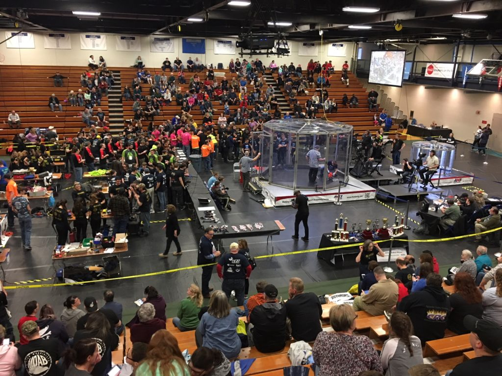 AWT RoboBots 2018 at Lakeland Community College