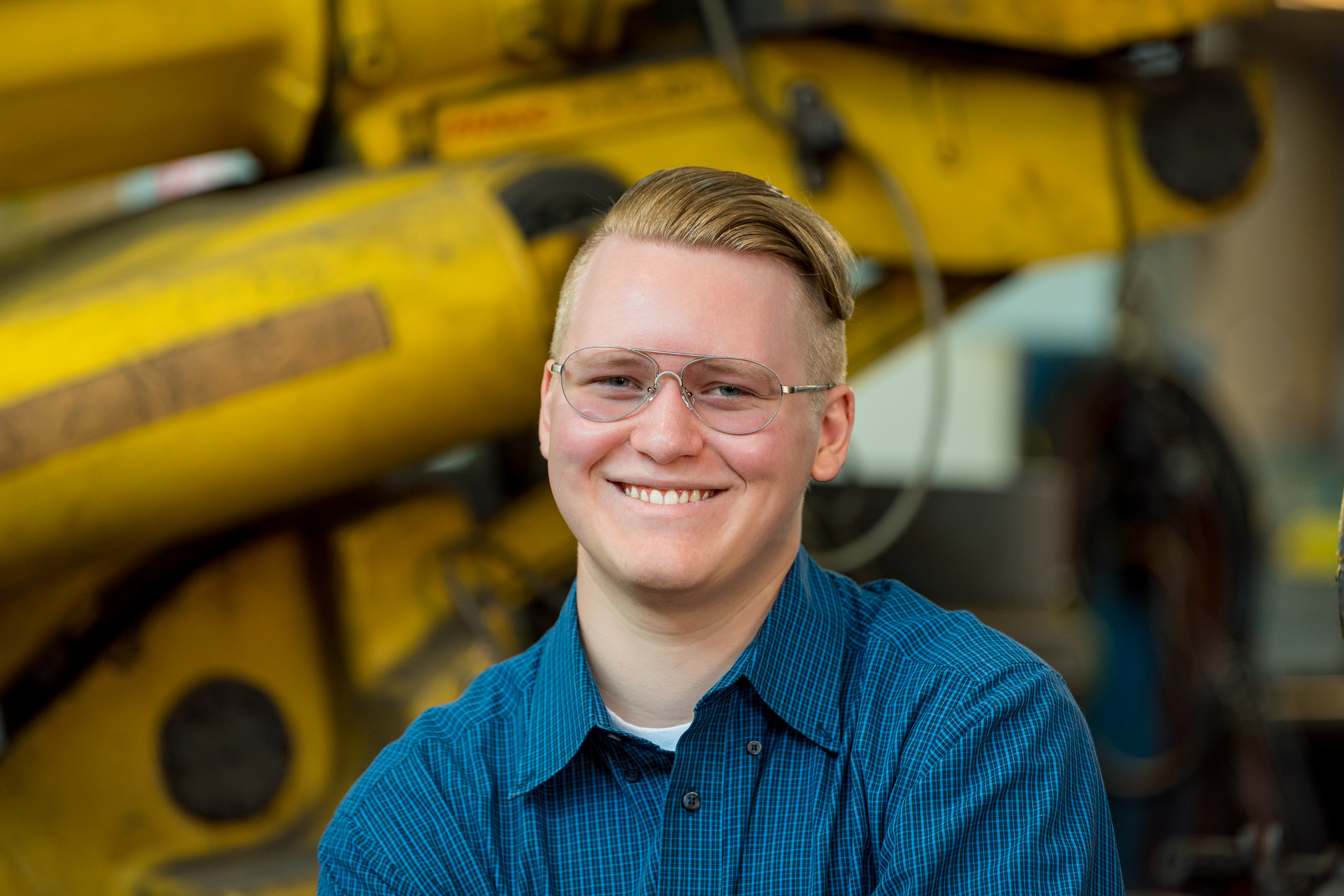 John Willett senior picture at HGR Industrial Surplus
