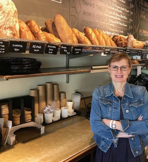 Tatyana Rehn, owner Stone Oven Bakery