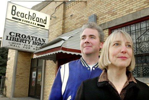 Cindy Barber and Mark Leddy, owners of Beachland Ballroom in Collinwood