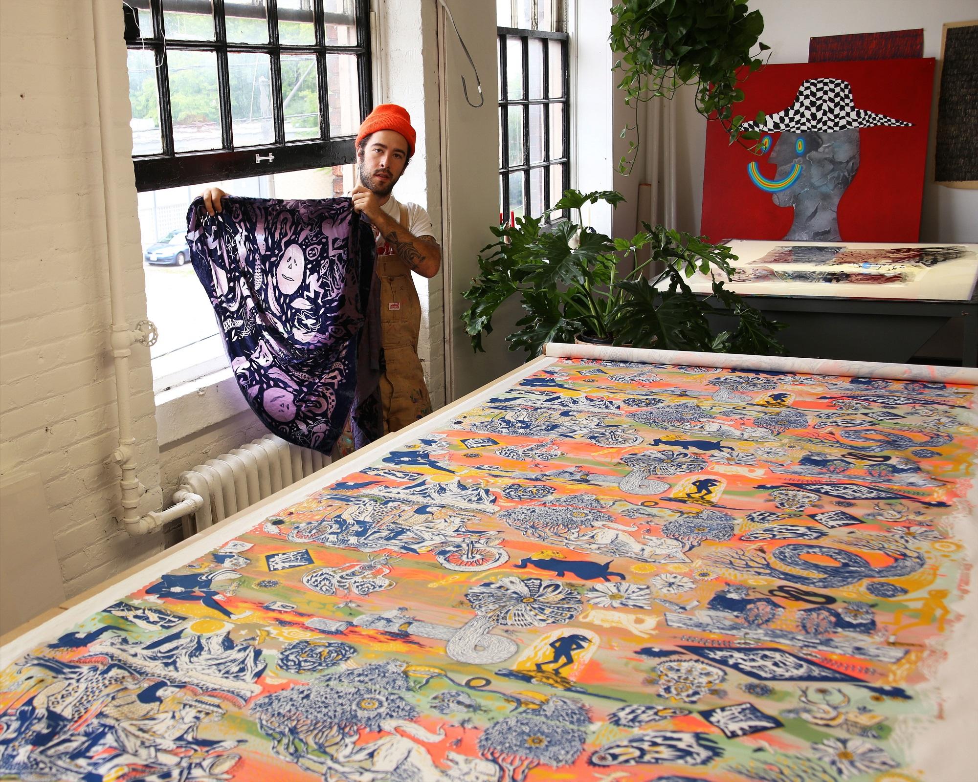 Dan Bortz textiles