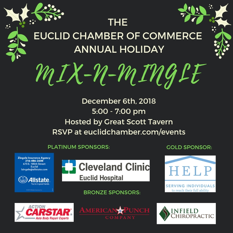 Euclid Chamber of Commerce 2018 holiday party