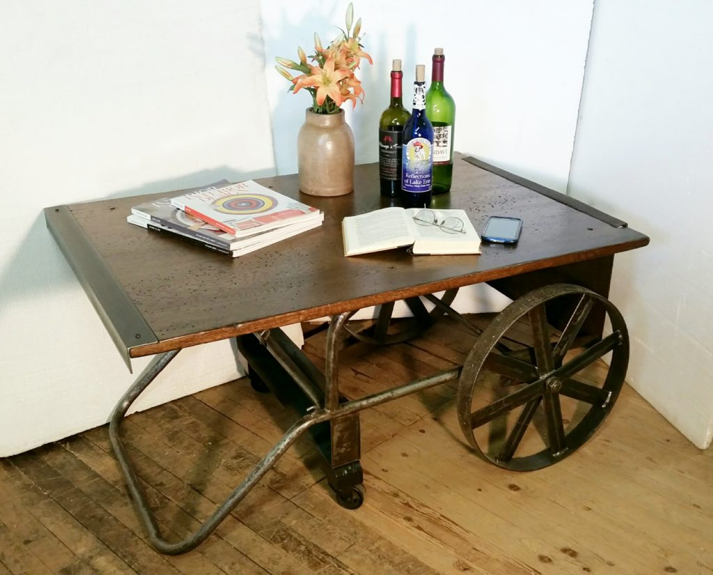 American Eagle Antiques cart table