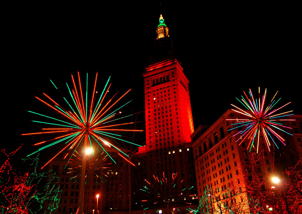 Terminal Tower Cleveland New Year