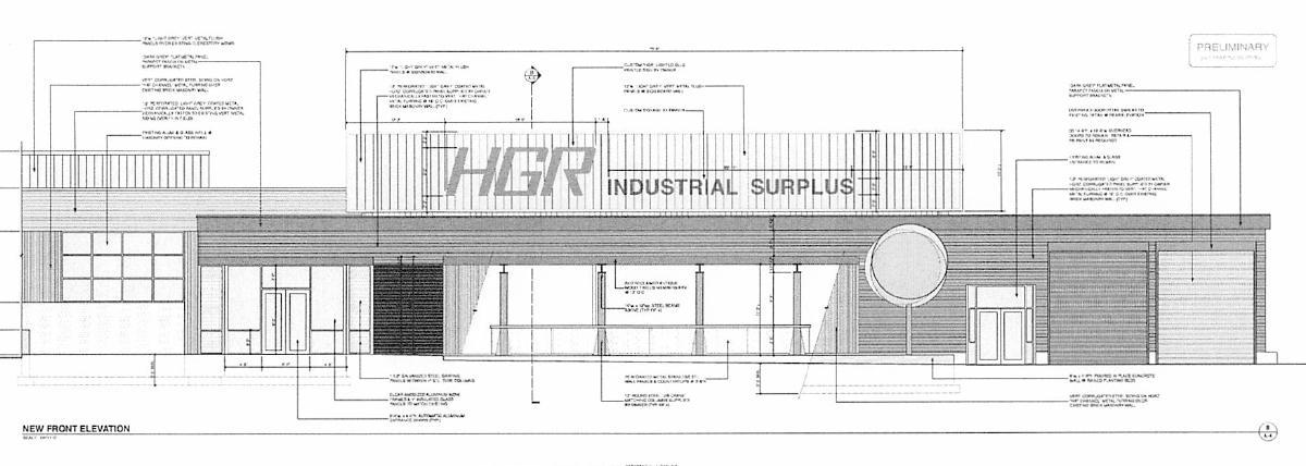 HGR New Entrance Blueprint